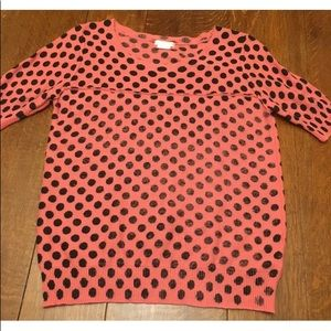 Urban Outfitters Polka Dot Short Summer Sweater L